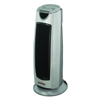 Duraflame DFH-TH-18-TO Gray Portable Electric Oscillating Radiant Ceramic Tower Heater