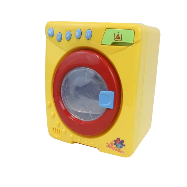 Light-UpAnimated Washing Machine Toy (Yellow)
