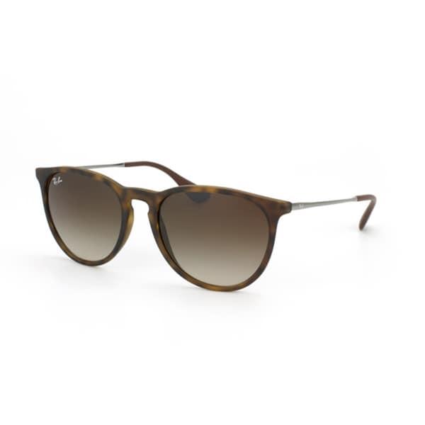 Ray-Ban Women's RB4171F Erika Round Wayfarer Sunglasses