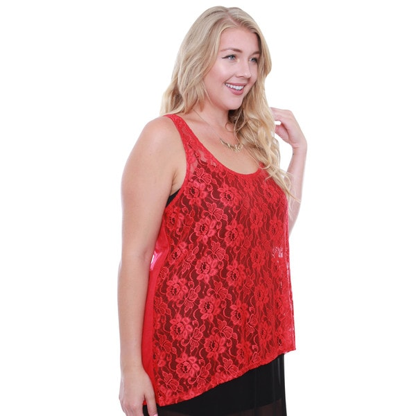 Juniors Red Blouse 35