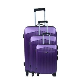Jean Louis Scherrer Alphonso 3-piece Hardside Spinner Luggage Set