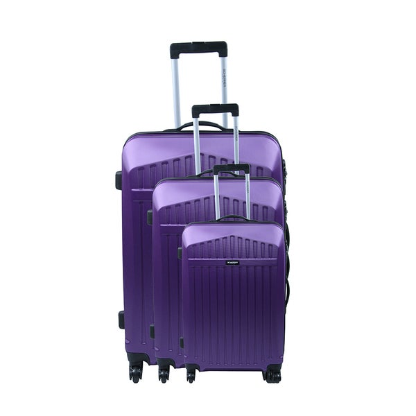 Jean Louis Scherrer Alphonso 3-piece Hardside Spinner Luggage Set