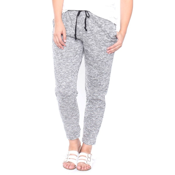 Plus Size Sporty Chic French Terry Jogger Pants