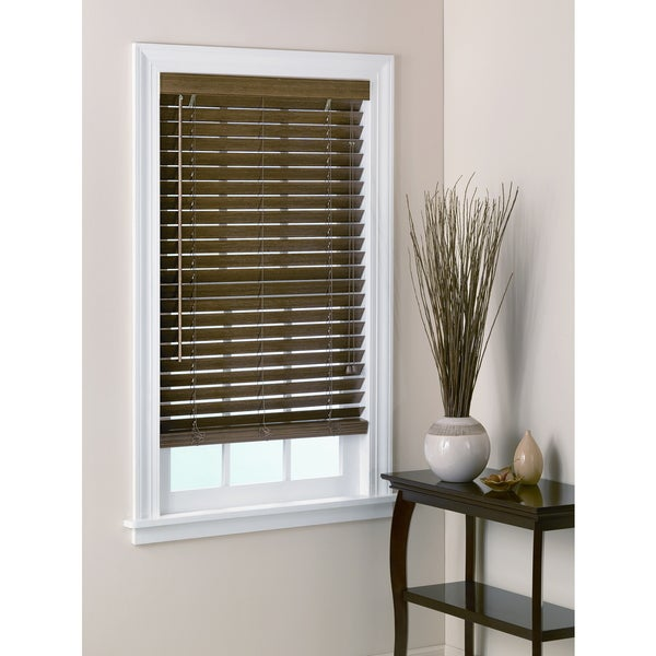 "2"" Bamboo Window Blind - Chestnut"