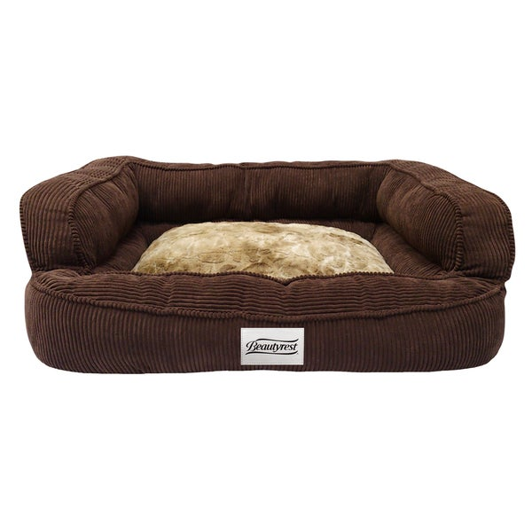Beautyrest Colossal Rest Orthopedic Memory Foam Large Dog Bed (As Is Item)