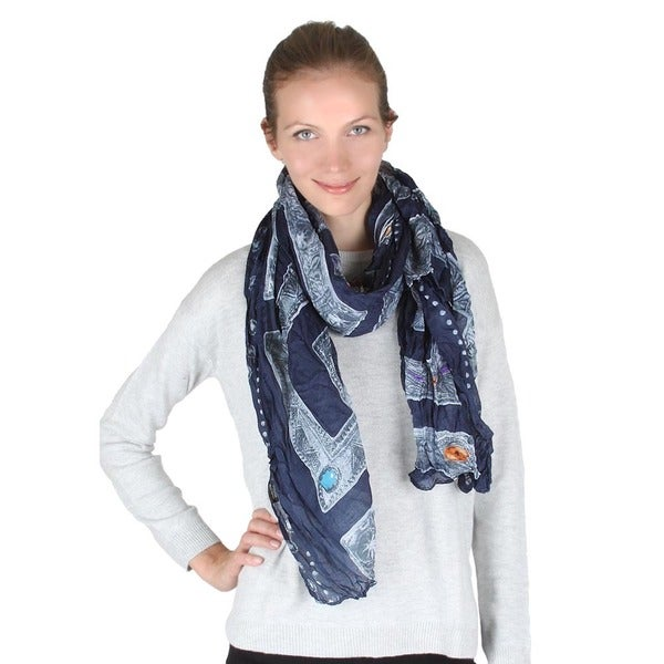 G Design Jewel Scarf