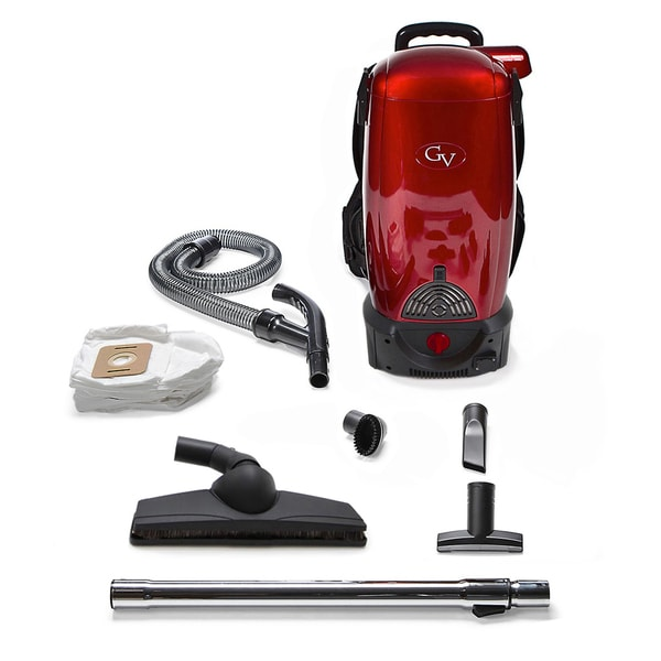 GV 8-Quart Commercial Pro Cordless HEPA Backpack Vacuum
