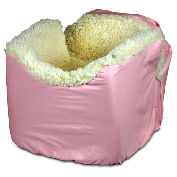Snoozer Baby Pink Lookout I Pet Car Seat