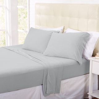 Home Fashion Designs Oxford Collection Super Soft Polar Fleece Luxury Sheet Set in Solid Colors