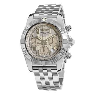 Breitling Men's AB011011-G676 'Chronomat 44' Chronograph Automatic Stainless Steel Watch