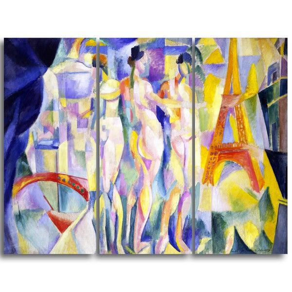 Design Art 'Robert Delaunay - La Ville de Paris' Canvas Art Print