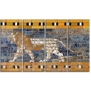 Design Art 'Processional Way Babylon' Canvas Art Print