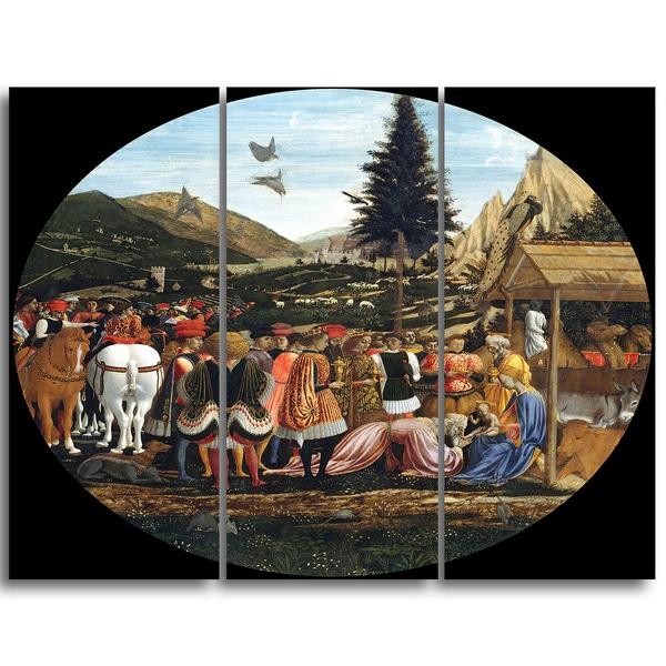 Design Art 'Domenico Tintoretto - The Adoration of the Magi' Canvas Art Print