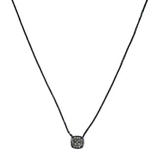 Sterling Silver 1/10ct TDW White Diamond Necklace