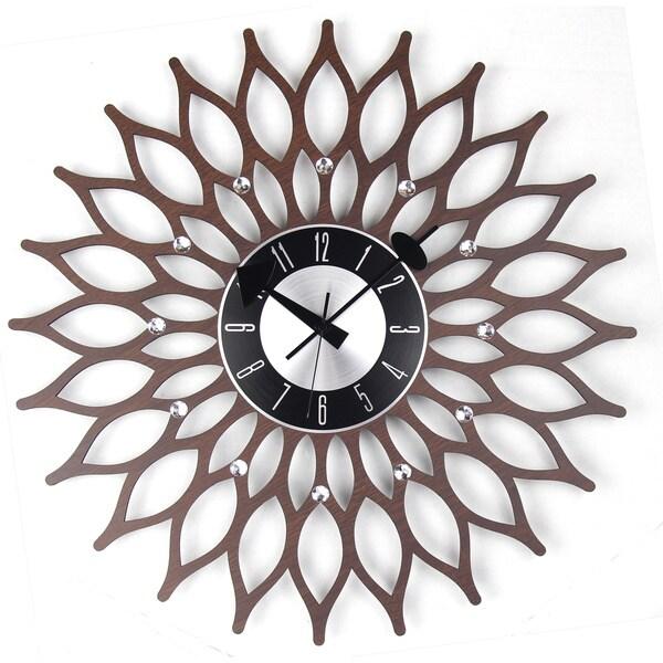 Mid Century Modern Wooden 20-inch sunflower 16439741