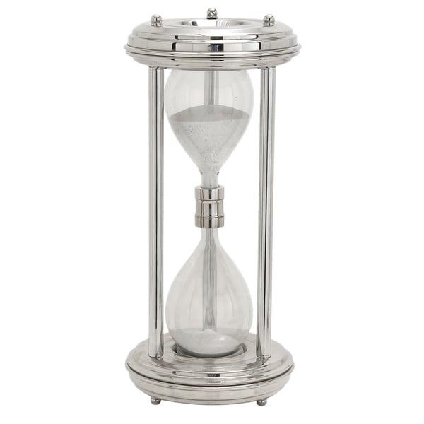 ecWorld Aluminum Decorative Hourglass Timer