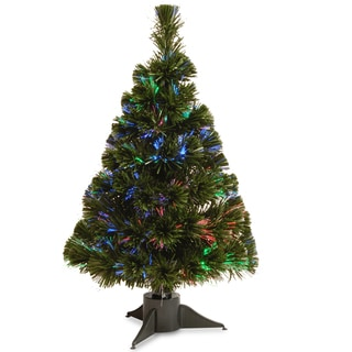 24-inch Battery Operated Fiber Optic Ice Tree