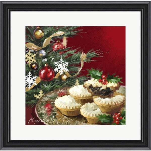 The Macneil Studio 'Mince Pies 1' Framed Art