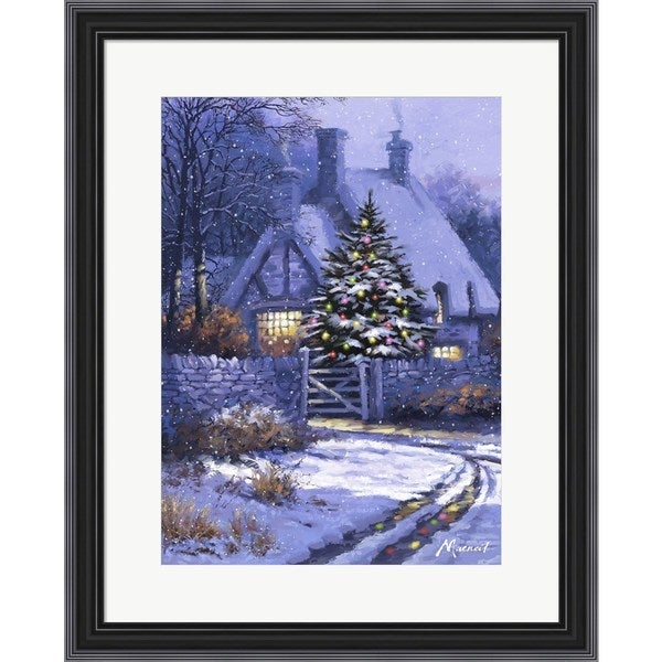 The Macneil Studio 'Christmas Cottage' Framed Art