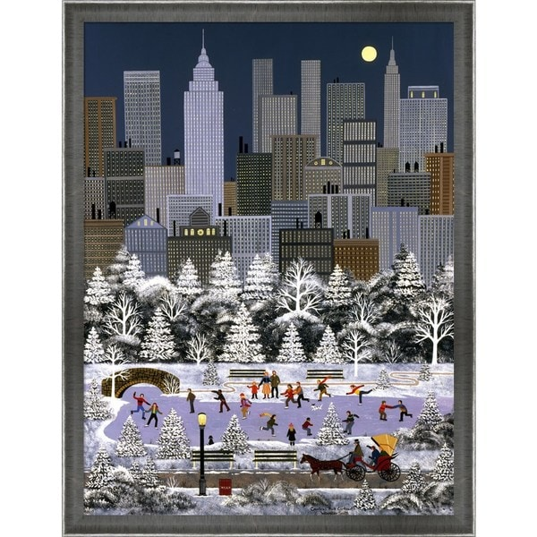 Jane Wooster Scott 'Central Park Contrast' Framed Art