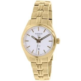 Tissot Women's T101.210.33.031.00 Goldtone Stainless Steel Swiss Quartz Watch