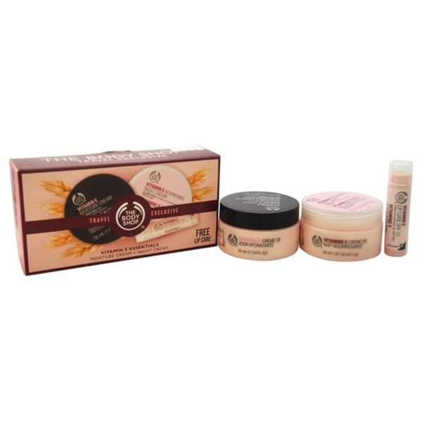 The Body Shop Vitamin E Essentials Travel Exclusive 3-piece Kit
