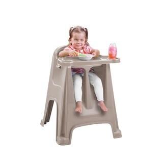 Rimax Children's Light Brown High Chair
