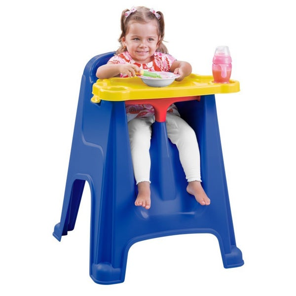 Rimax Children's Blue High Chair