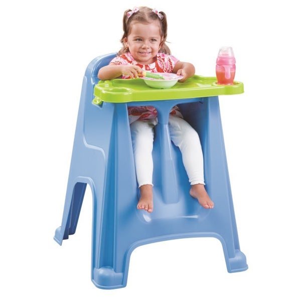 Rimax Children's Baby Blue High Chair