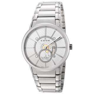 Edox Men's Stainless Steel ED-72011 3 AIN Mechanical Watch