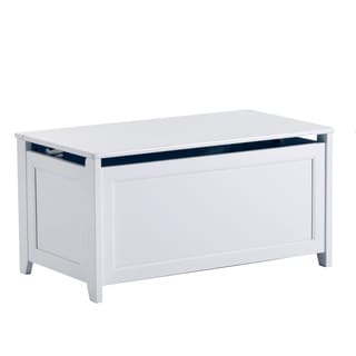 School House White Toy Box