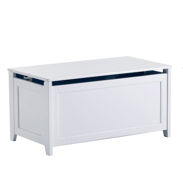 School House White Toy Box