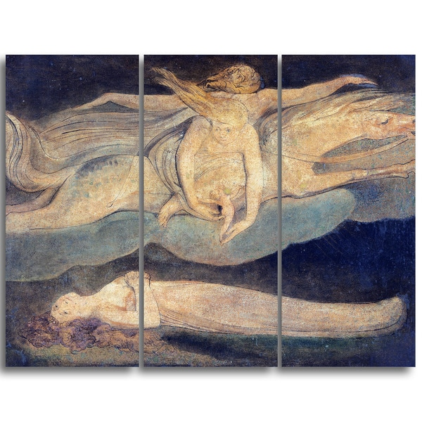 Design Art 'William Blake - Pity' Religious Canvas Art Prints