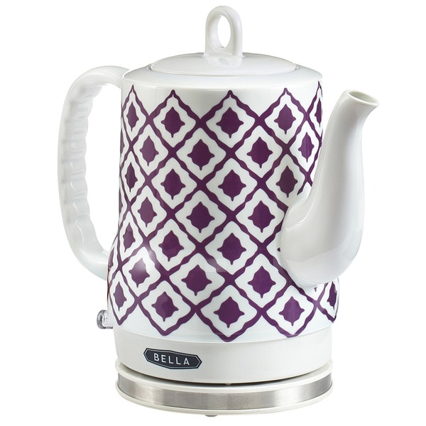Bella Electric Ceramic Kettle Purple