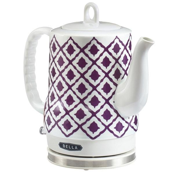 Bella Electric Ceramic Kettle Purple