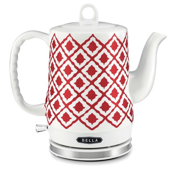 Bella Electric Ceramic Kettle Red