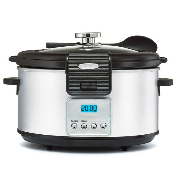 Bella Linea White 5-quart Slow Cooker