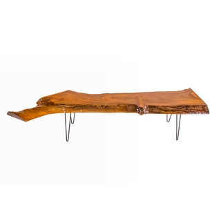 Live Edge Reclaimed Wooden Bench
