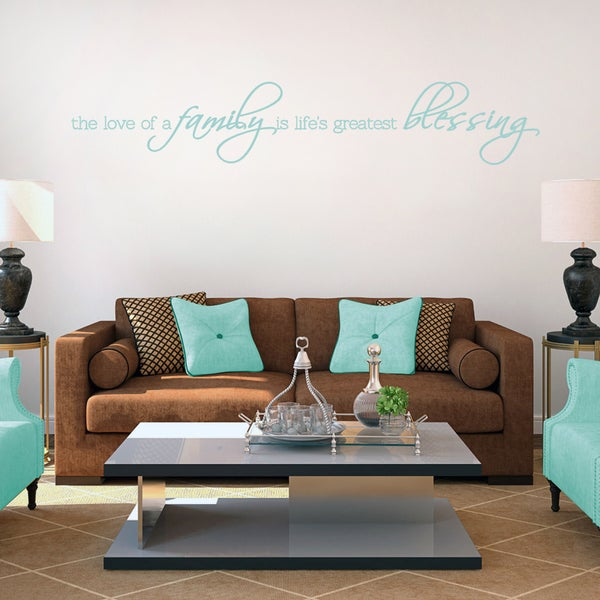 Life's Greatest Blessing 48 x 10 Wall Decal