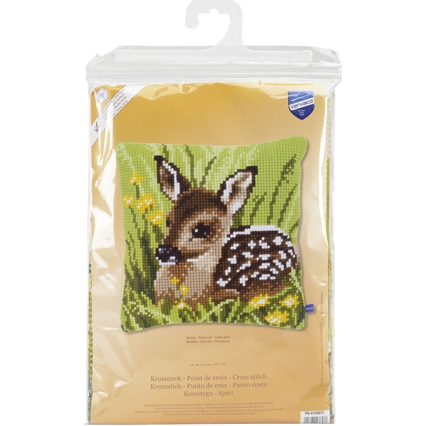 Little Deer Cushion Cross Stitch Kit