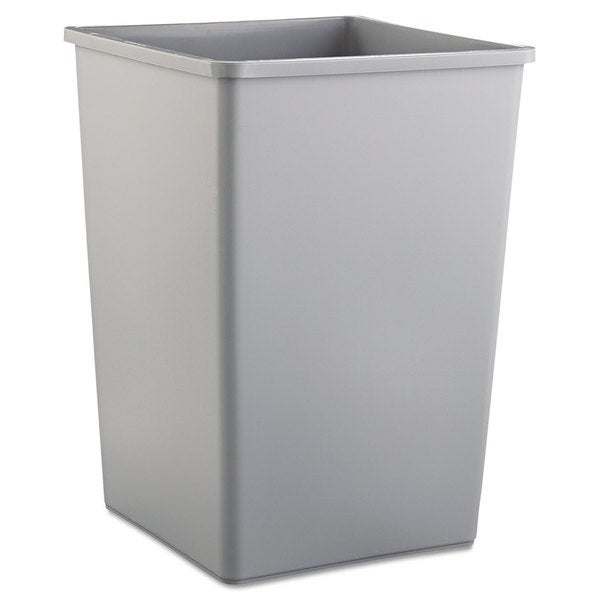 Rubbermaid Commercial Gray 35 gal Untouchable Waste Container