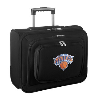 Denco Sports Legacy NBA New York Knicks Carry On 14-inch Laptop Rolling Overnight Tote