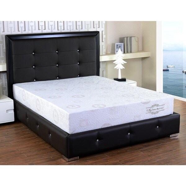 Somette 8-inch California King-size Herbal Fusion Memory Foam Mattress