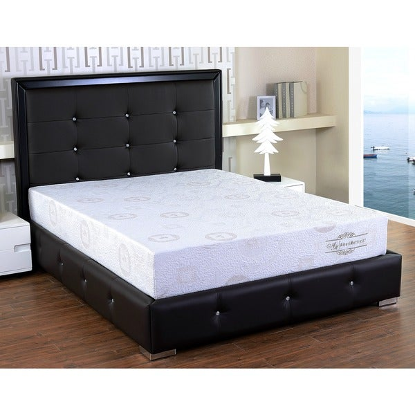 Somette 8-inch Twin XL-size Herbal Fusion Memory Foam Mattress