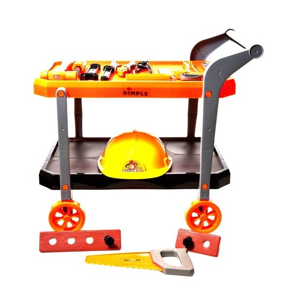Dimple Toy Handyman Trolley with Tools -