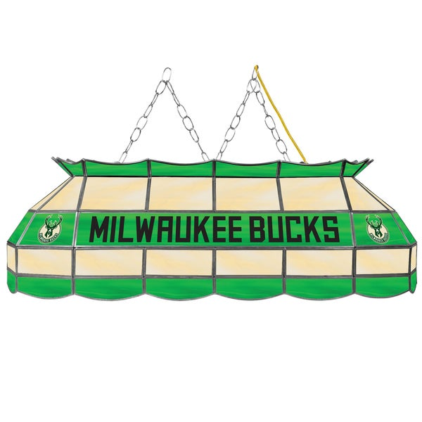 Milwaukee Bucks NBA 40 inch Tiffany Style Lamp
