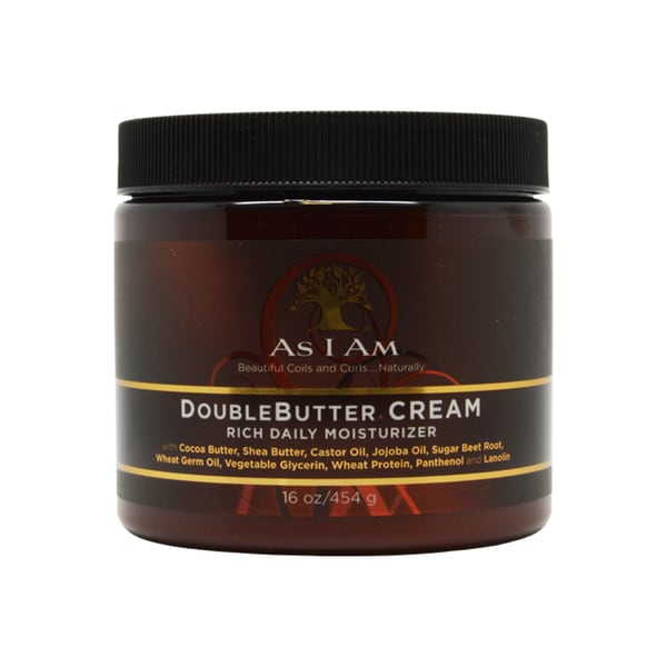 As I Am Double Butter 16-ounce Rich Daily Moisturizer