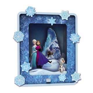 Uncle Milton Dream Scene Winter in Arendelle Wall Decor