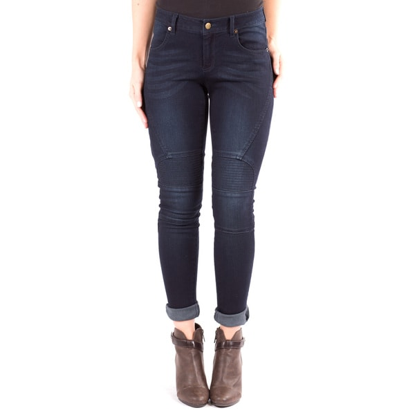 Women's Skinny Jean with Knee Detail