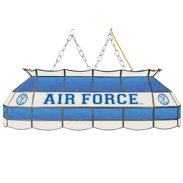 Air Force Falcons 40 Inch Stained Glass Tiffany Light